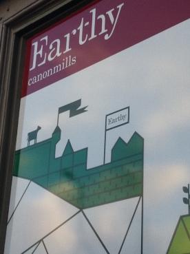 Earthy cafe and deli, Edinburgh
