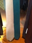 Green tie, Harrods, £180