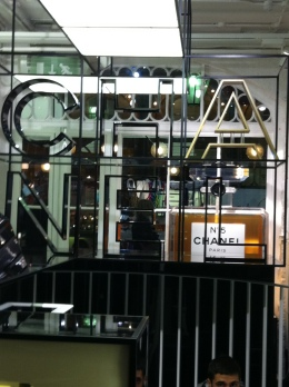 Chanel pop-up, Covent Garden