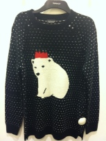 Polar bear jumper, Top Shop, £50