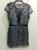Limited Edition sequin organza shift dress, Top Shop, £150