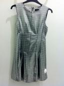 Metallic seam shift dress, Top Shop, £55