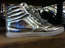 Silver Carlton high-tops, Urban Outfitters, £38