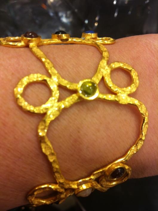Mixed stones bracelet, Azuni, £70 in John Lewis