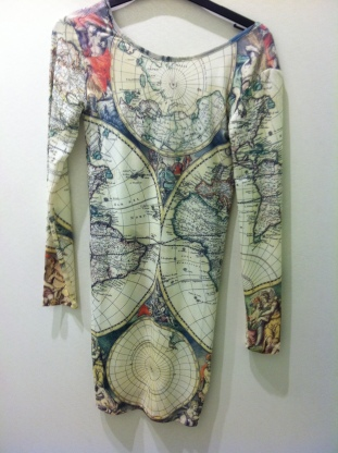 Map dress, Tee and Cake, £32 at Top Shop