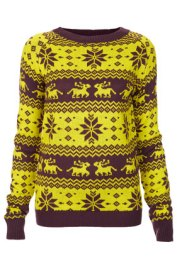 Oh My Love christmas jumper, Top Shop, £39