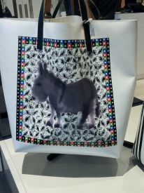 Marni shopper, donkey print, £180