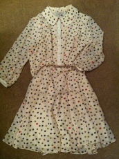 Marlee polka dot dress, Ted Baker, £139