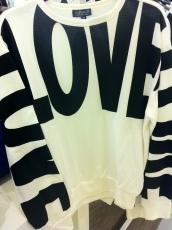 Love sweat, Top Shop, £28