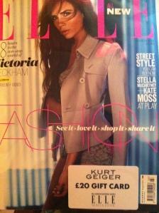 Elle, March 2013