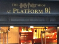 Harry Potter at Platform 9 3/4