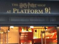 Harry Potter at Platform 9 3/4