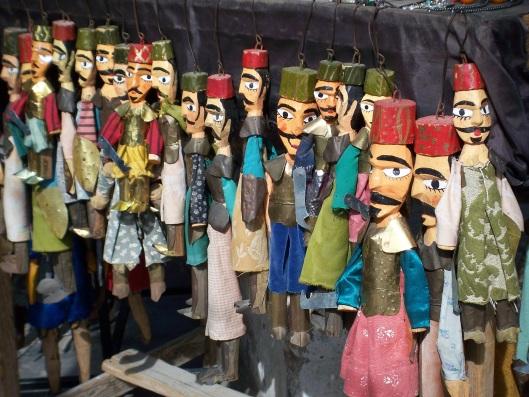 Djerban puppets, Houmt Souq
