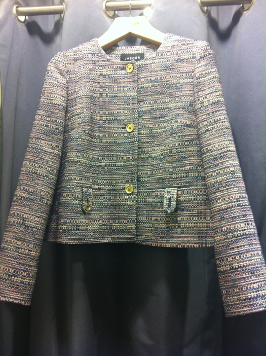 Jaeger tweed jacket, £225