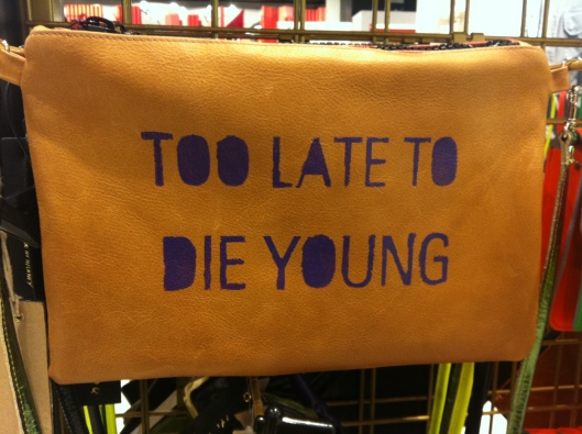'Its not me its you' leather clutch, Top Shop, £45