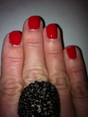 "OPI ""color so hot it berns"""