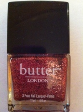 "Butter nail varnish, ""Rosie Lee"""