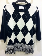Argyle knit sweater by J.W.Anderson For Top Shop, £75