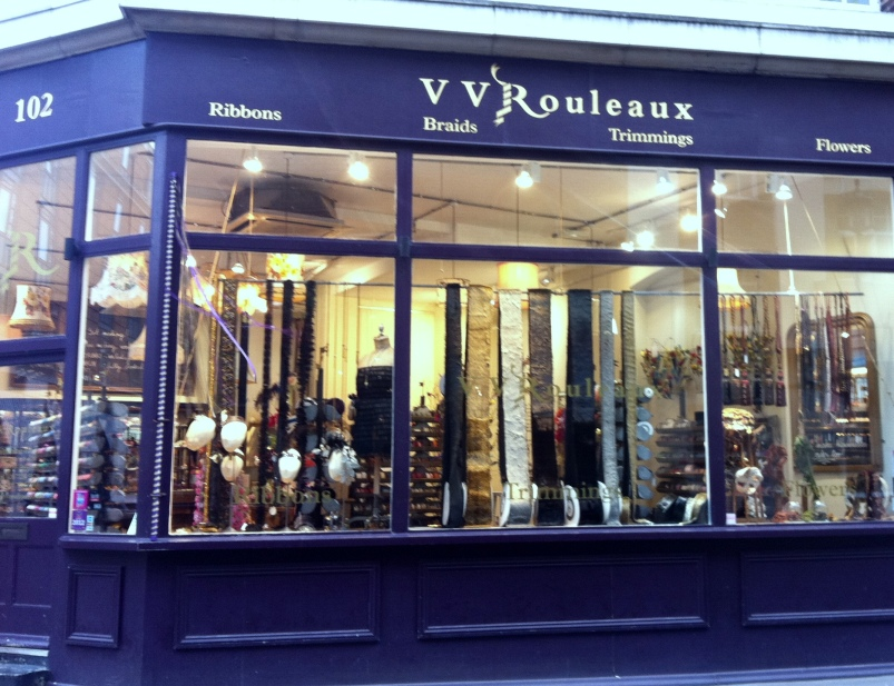 V V Rouleaux, 102 Marylebone Lane, London