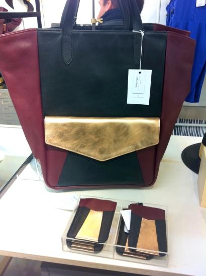 Shopper with detachable clutch, £145