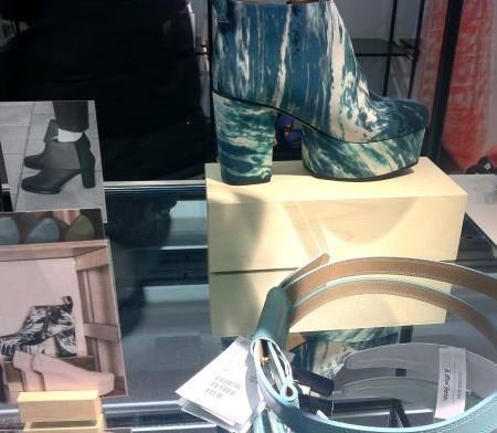 Platform ankle boots, £79