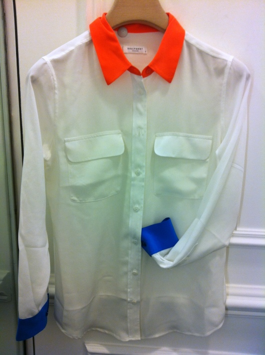 Equipment, Bright blouse, Selfridges £255