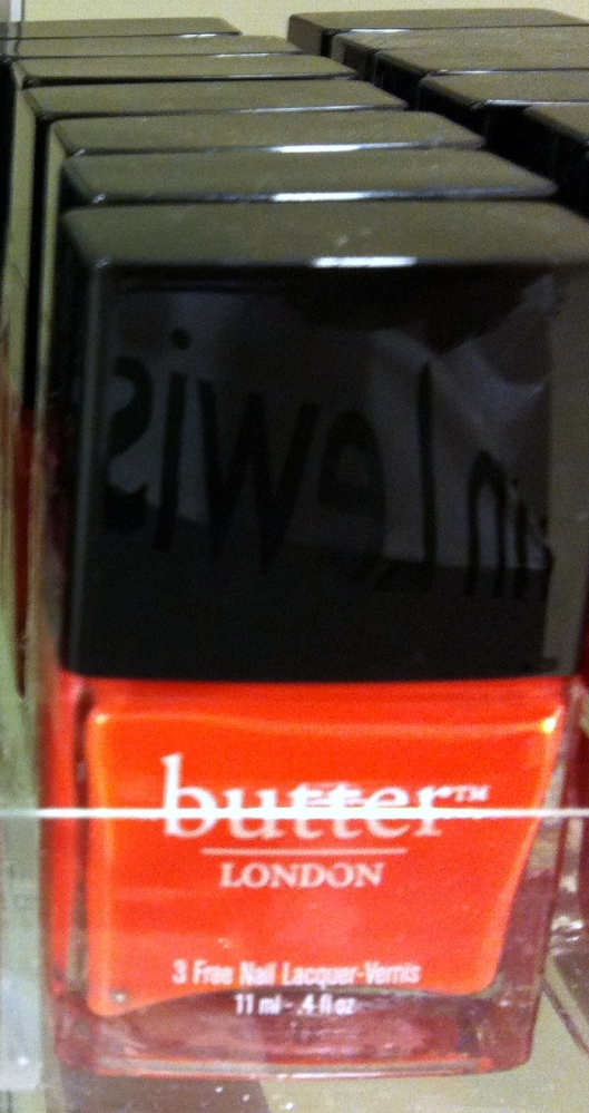 Butter nail varnish in Jaffa