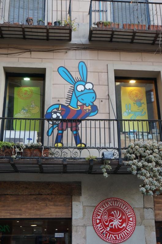 Kukuxumusu, c/ Argentaria, Barcelona