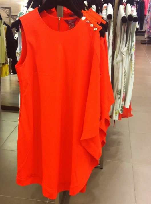 Bolty asymmetrical draped tunic, Ted Baker, £139